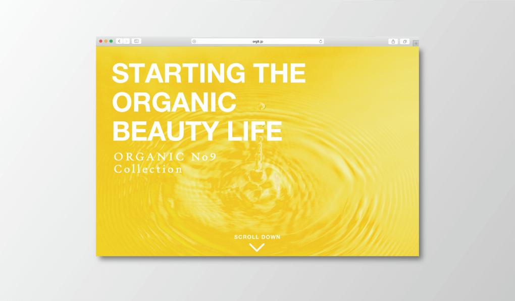 Organic no.9 web